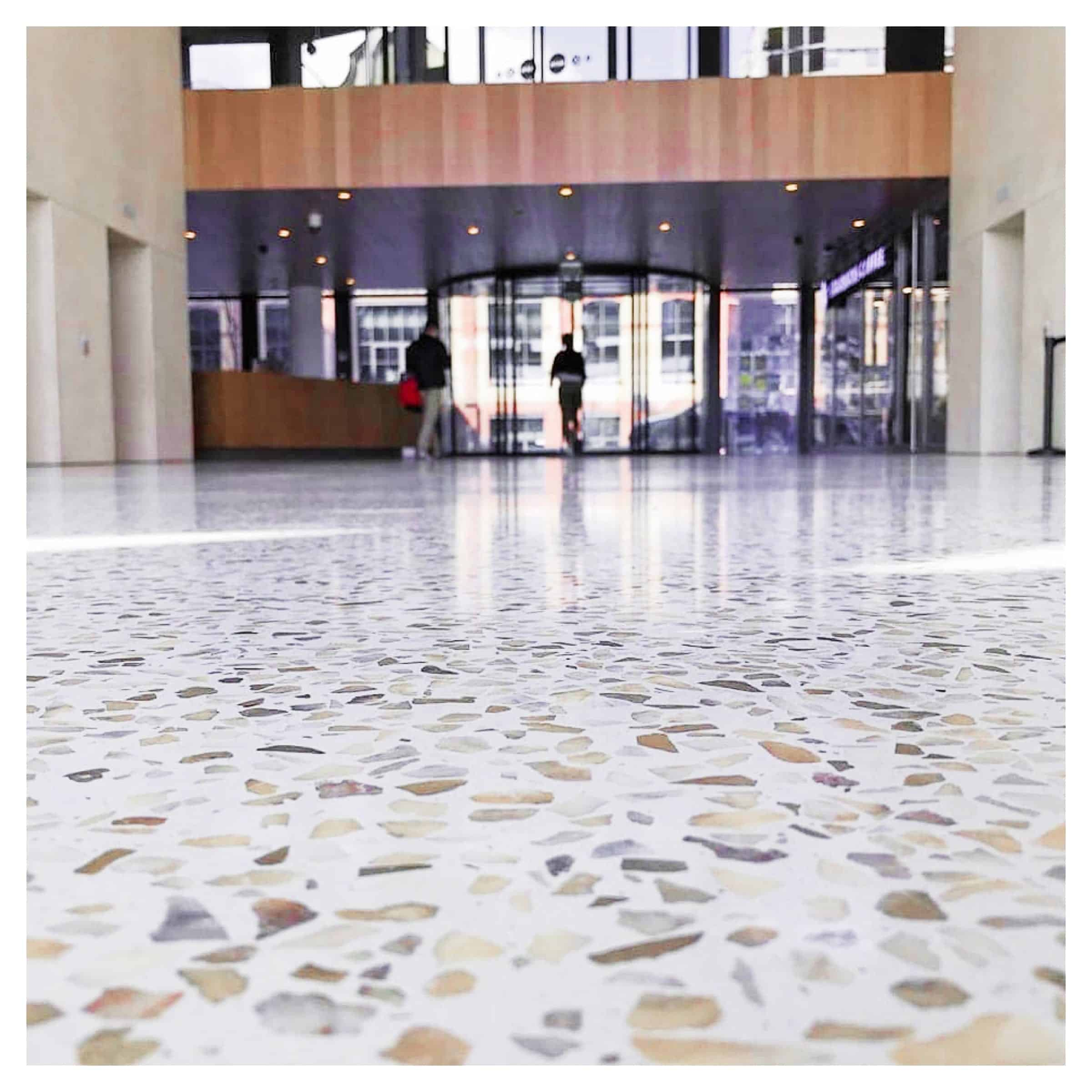Terrazzo-coule